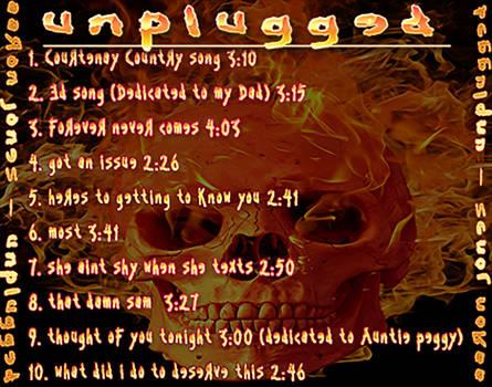 Tracklist by bjmiller593