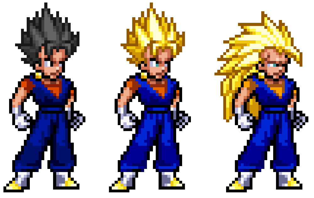Extrêmement Dragon Ball Z - Vegito by MrMaclicious on DeviantArt VN38