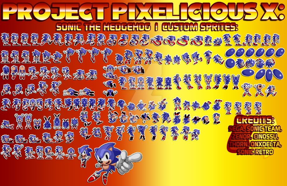 PPX - Sonic 1 Custom Sprite by MrMaclicious on DeviantArt