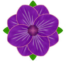 Purple Flower 2