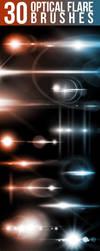 Optical Flare Brushes 590 by pushaloo