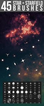 45 Star + Starfield Brushes