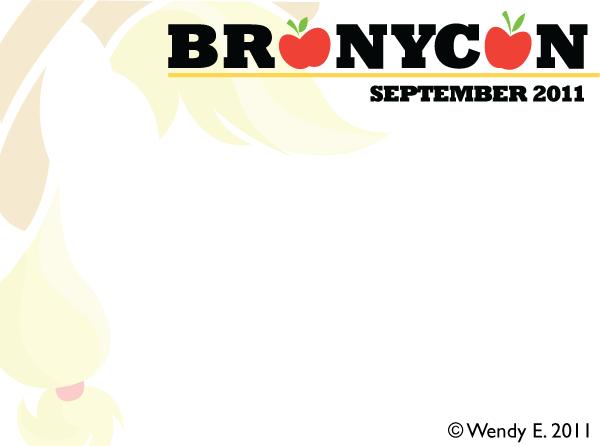 BroNYCon September 2011 Name Tag by midori-no-ink on ...