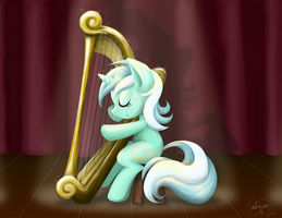 In Memory of Heartstrings by midori-no-ink