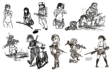Doodle Dump Early Summer 2016 by Marpaparp