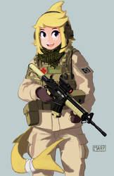 Operator Apricot by Marpaparp