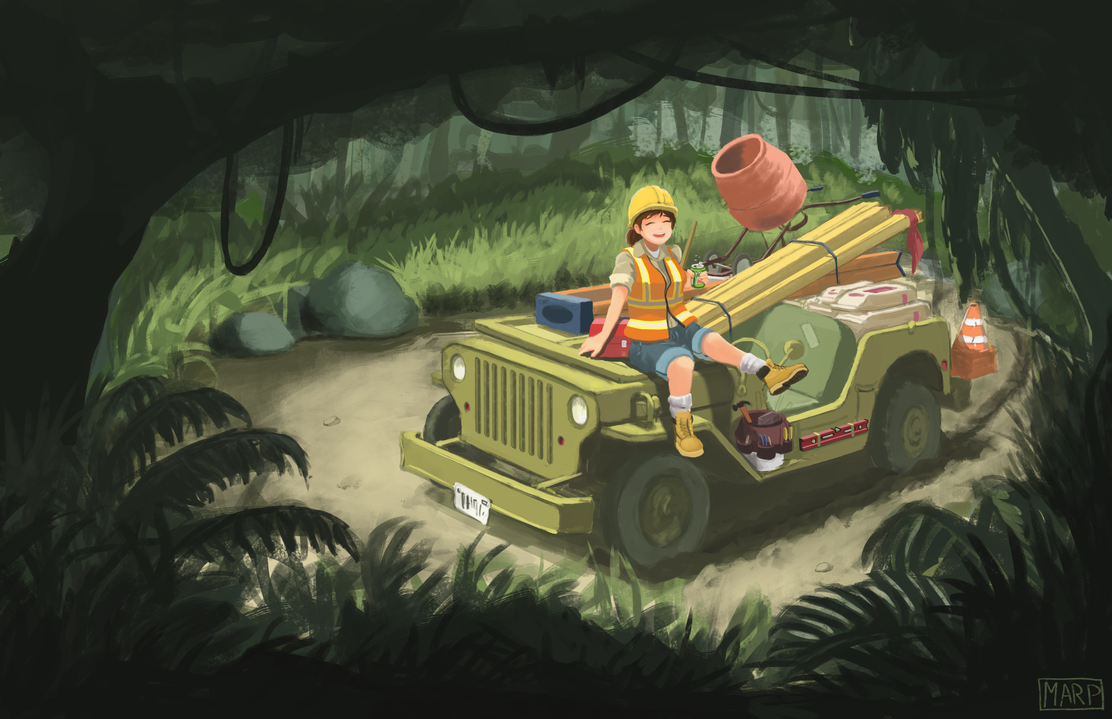 Jungle Safari Mt Dew Construction by Marpaparp