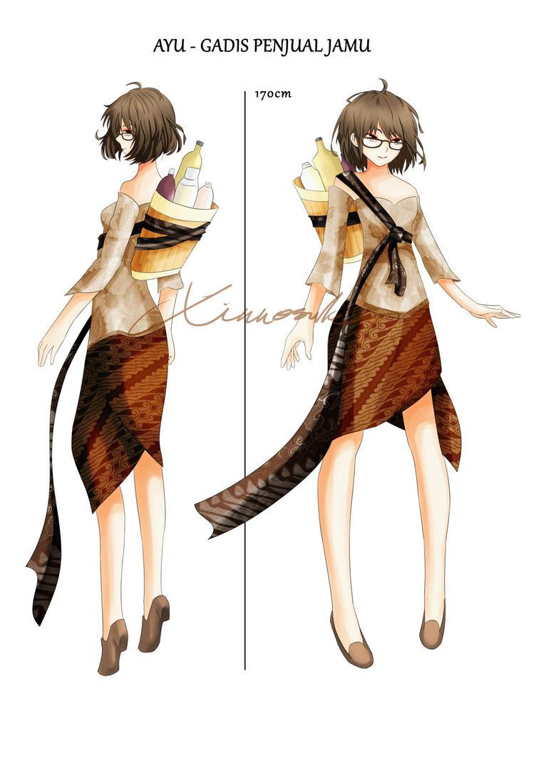 Gadis Penjual Jamu by Xinnosuke on DeviantArt