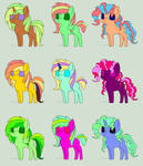1 point pony  Adopts
