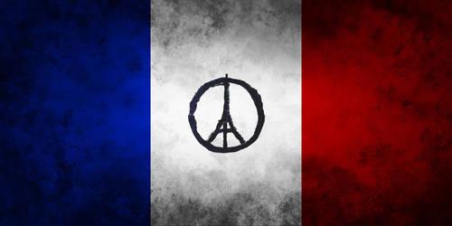 Pray for Paris by ramziBoughrara