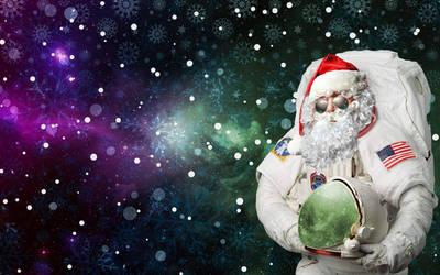 Astro Santa by ramziBoughrara
