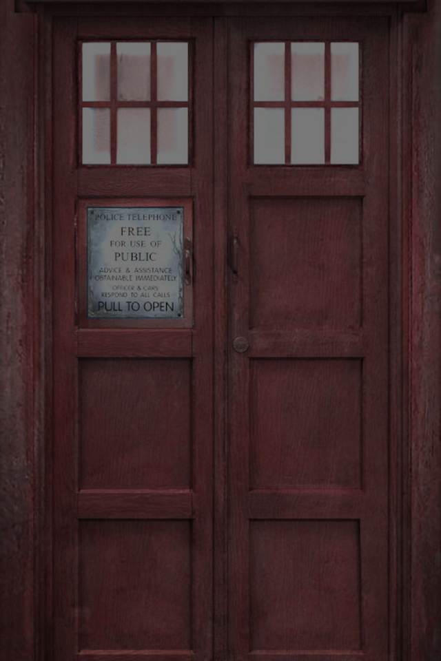 red tardis iphone wallpaper by lopezj2552 on deviantart
