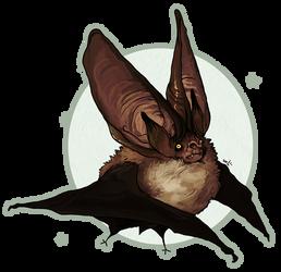 Plecotus auritus vampirus wtfu by NightmareHound