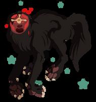 Headless Hellhound by NightmareHound