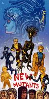 New Mutants by NightmareHound