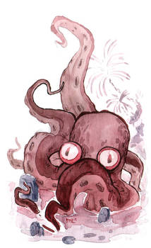 Man Eating Octopod