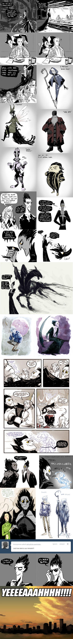 RotG Sketchdump IV by NightmareHound