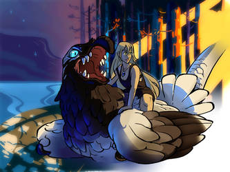 Dracostryx: Aura IV by NightmareHound