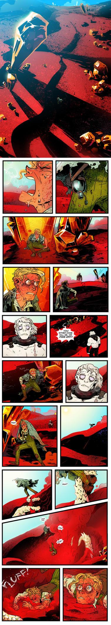 gregor prologue part 1 by NightmareHound