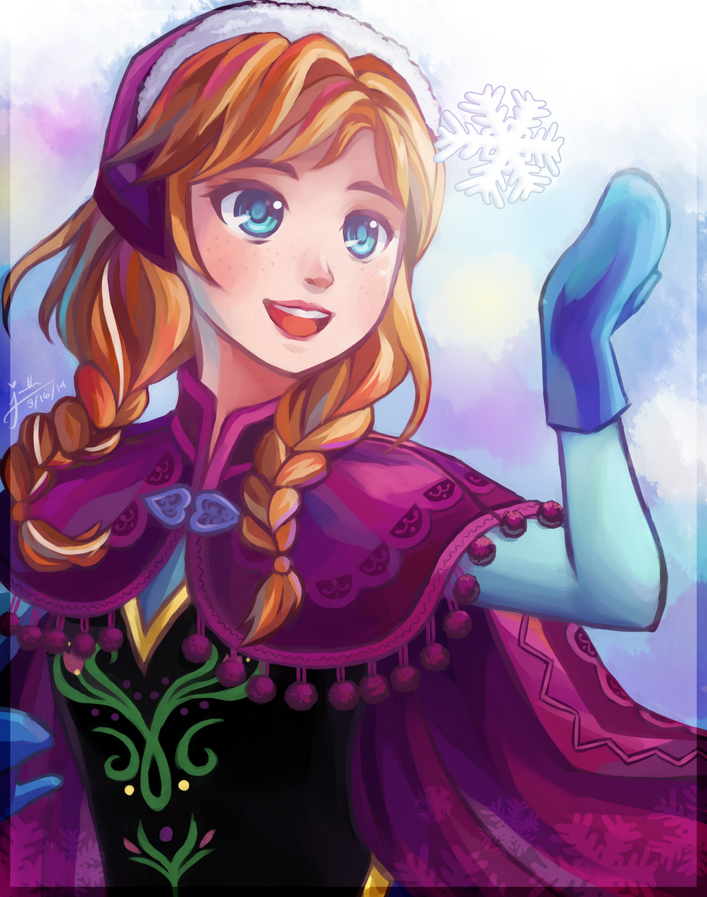 FA : Anna by Moriusii