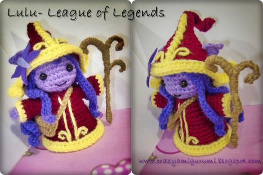 Lulu - league of legends amigurumi