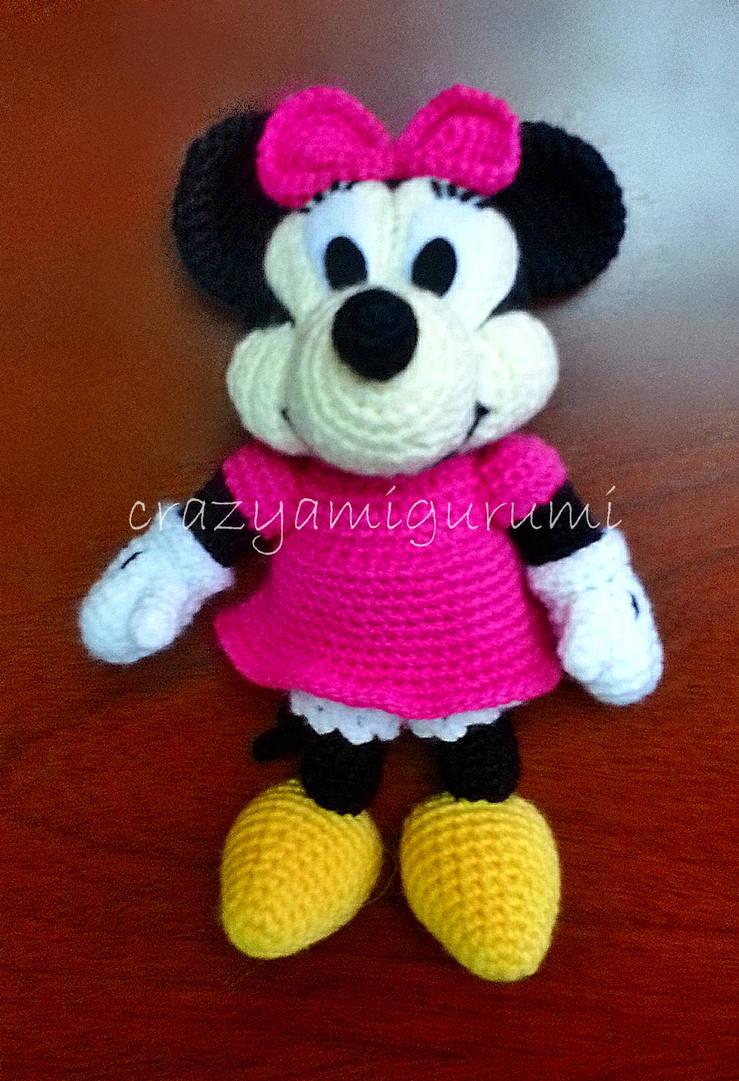 MINNIE Maus Disney Muster Amigurumi Baby einfach einfache DIY | Etsy | 1081x739