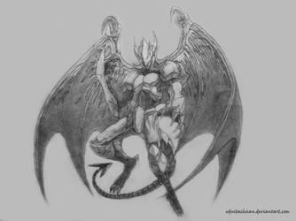 E-Hero Dark Gaia by eduitachisan