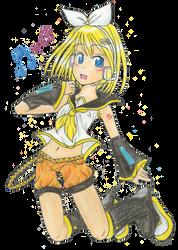 55 Girl - Kagamine Rin by kamali-chan