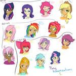 Pony Humanizations 1