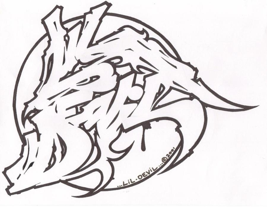 Imagenes De Graffitis Chidos Para Dibujar Step By Step Graffiti