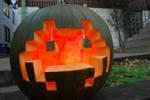 Space Invader Pumpkin