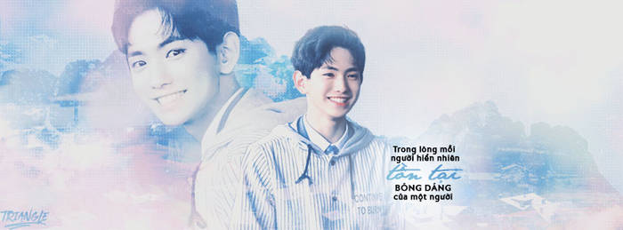[Facebook Cover] Lee Eui Woong - Triangle Team by thientuyet1602