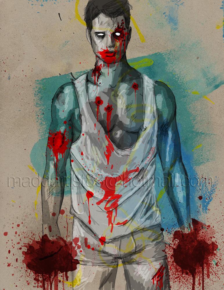 'Zombie Boys' #2 by maddartist83