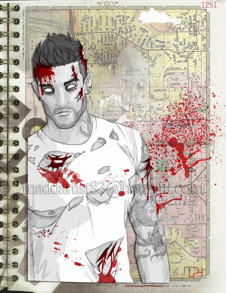 'Zombie Boys' #5 by maddartist83
