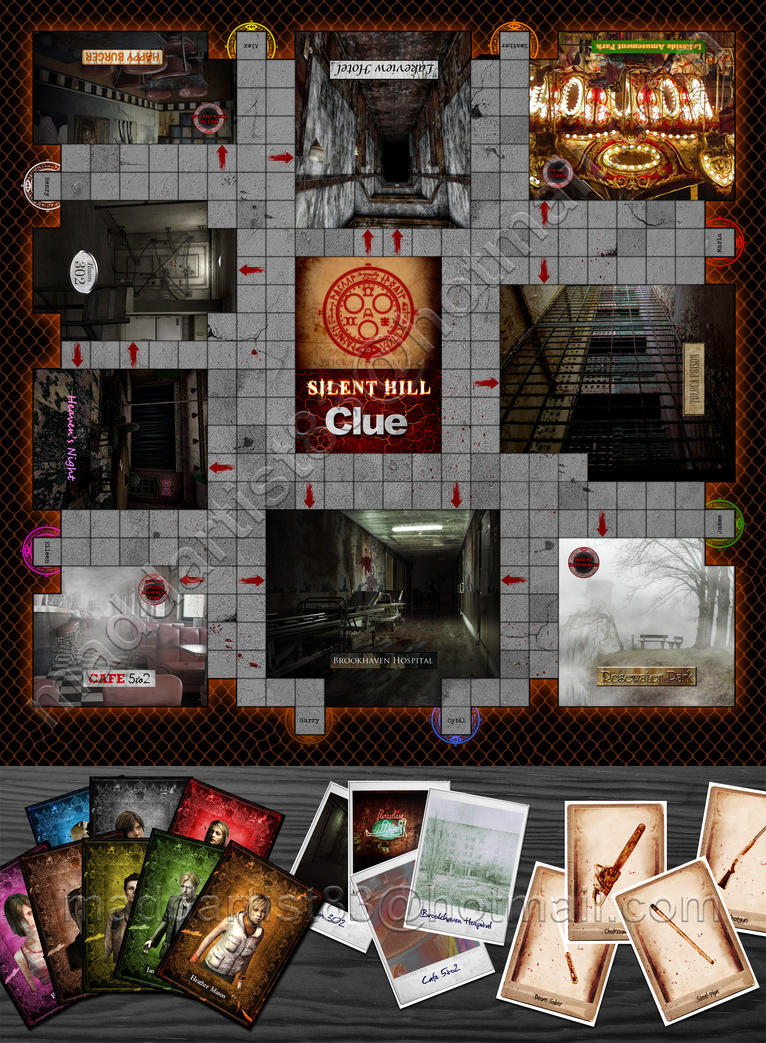 Silent Hill Clue by maddartist83