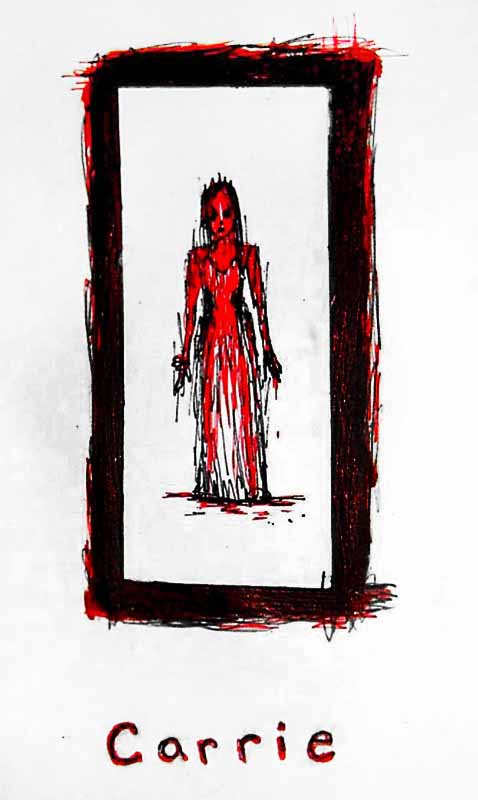 CARRIE by maddartist83