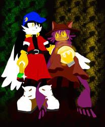 Klonoa and niko: Dream travelers by teriax