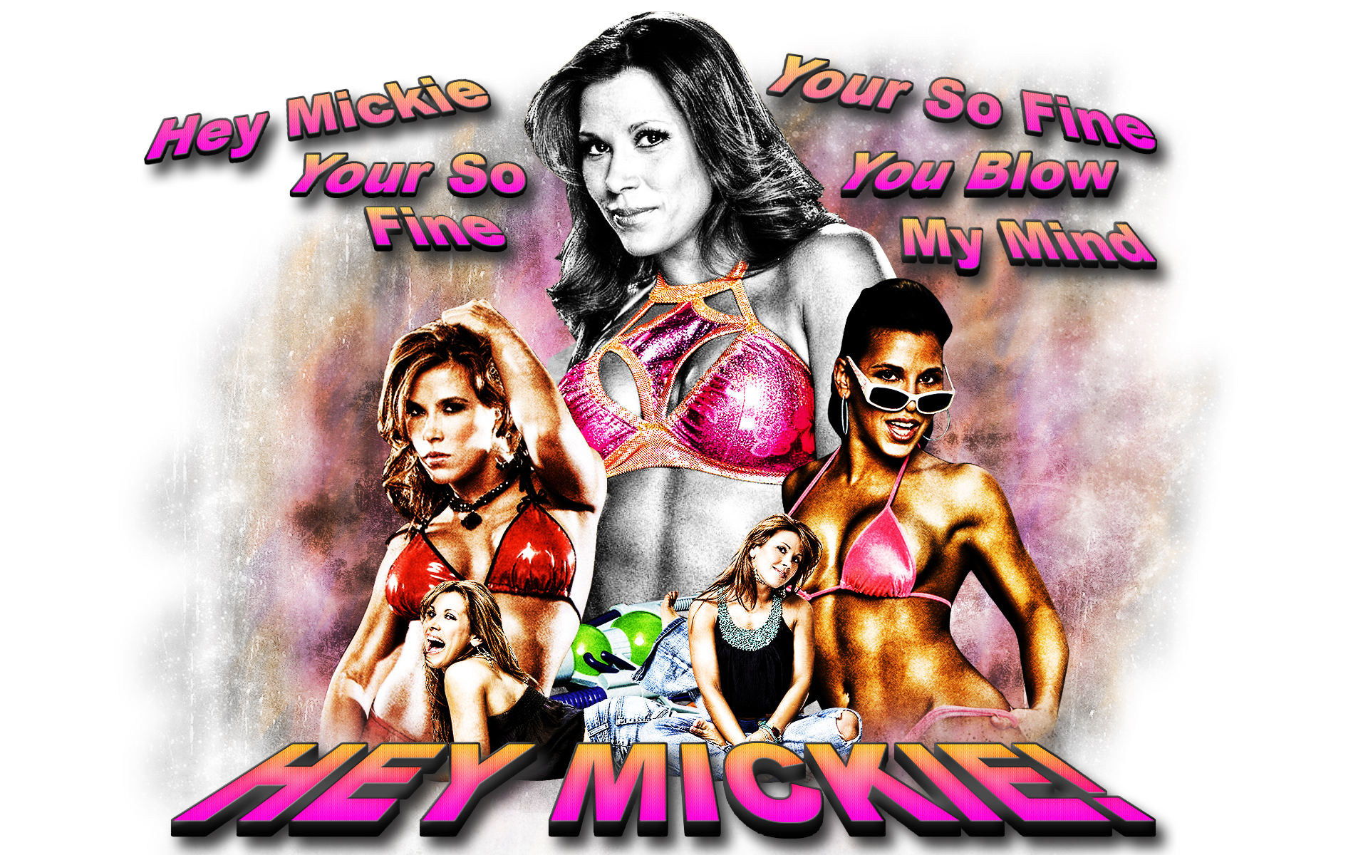 Mickie James Wallpaper by ~WCFOmen on deviantART