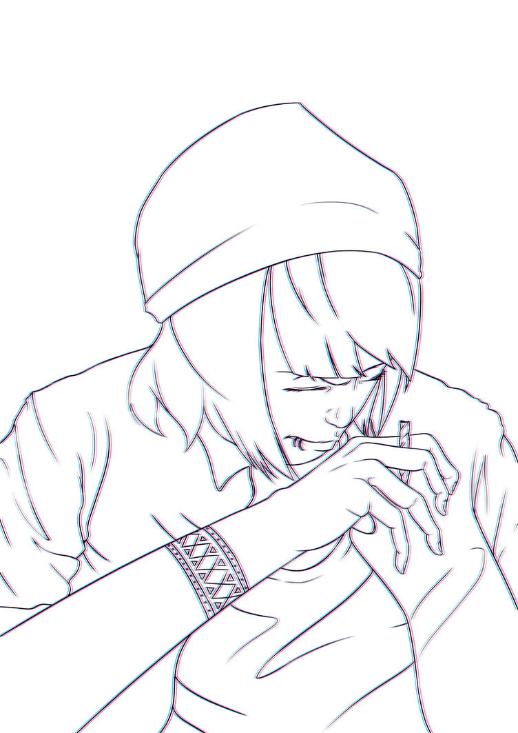 Punk Girl Illustration by Seiruzan