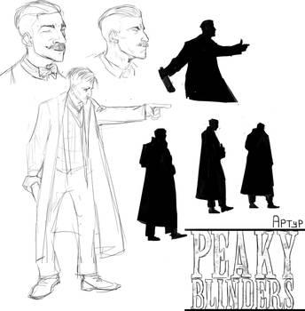 Peaky blinders: Arthur by Savel-Eve