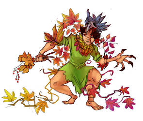 autumn witch (1) by Savel-Eve