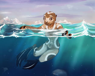 Selkie by Savel-Eve
