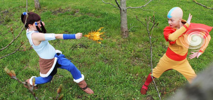 Fight of the Avatars by Kida-Takashi