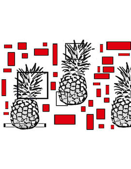 tiles with my pinapples.