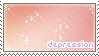 depression stamp by DestinysGrace