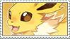 Jolteon stamp by DestinysGrace