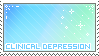clinical depression stamp