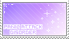 panic attack disorder stamp by DestinysGrace