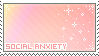 social anxiety stamp