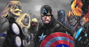 Joe Mad's Avengers
